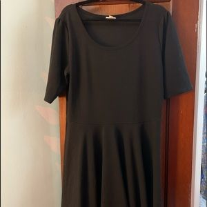 LULAROE 3XL BLACK NICOLE DRESS EUC!!